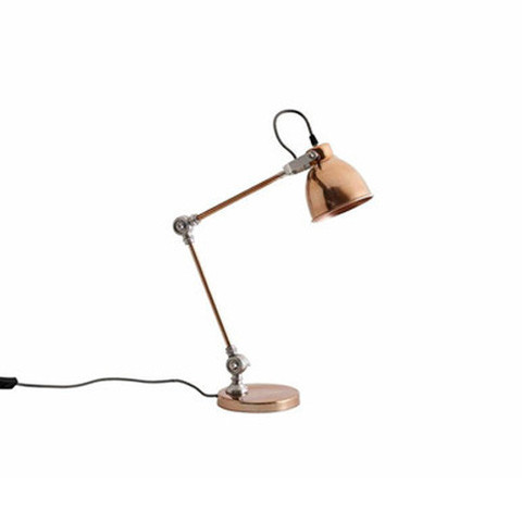 Copper Desk lamp Dust