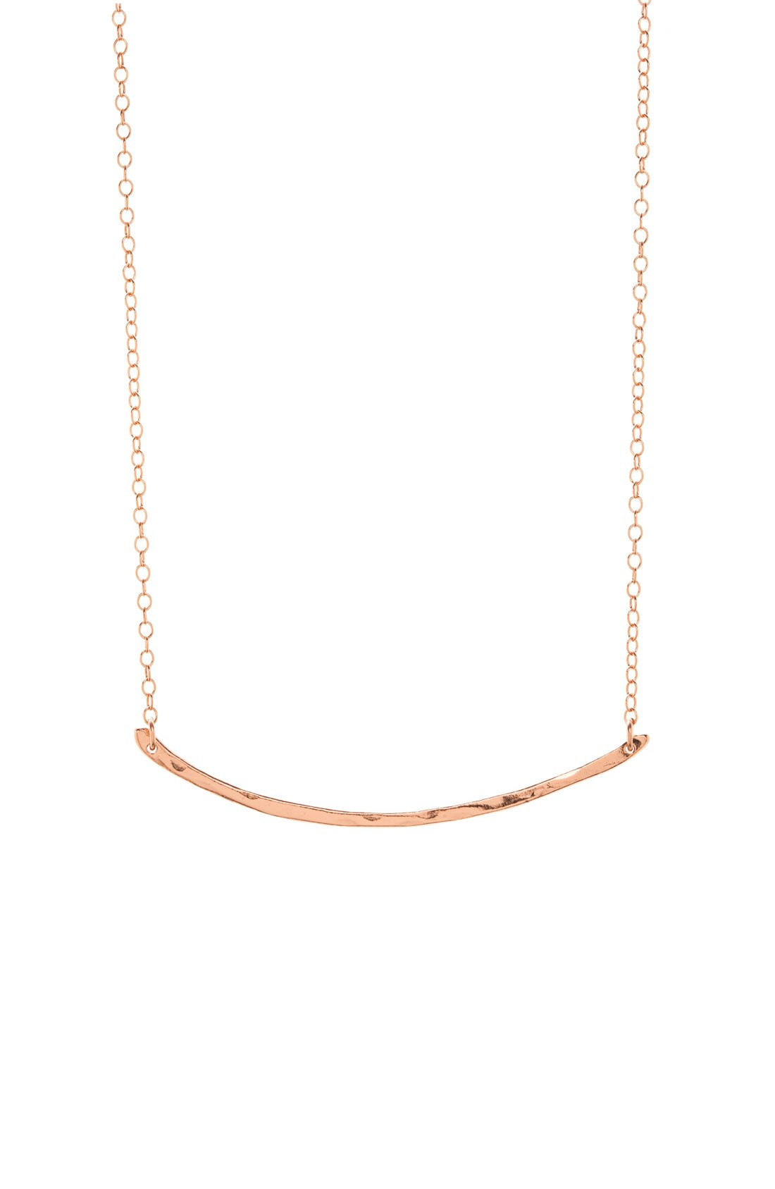 Gorjana t bar necklace