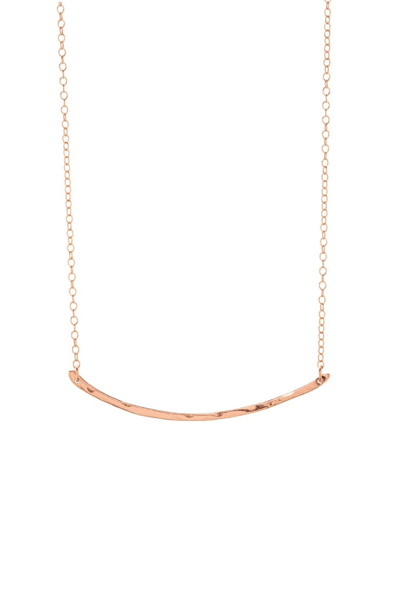 Gorjana t bar necklace