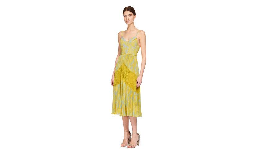 whistles-iris-lace-dress-mustard dress
