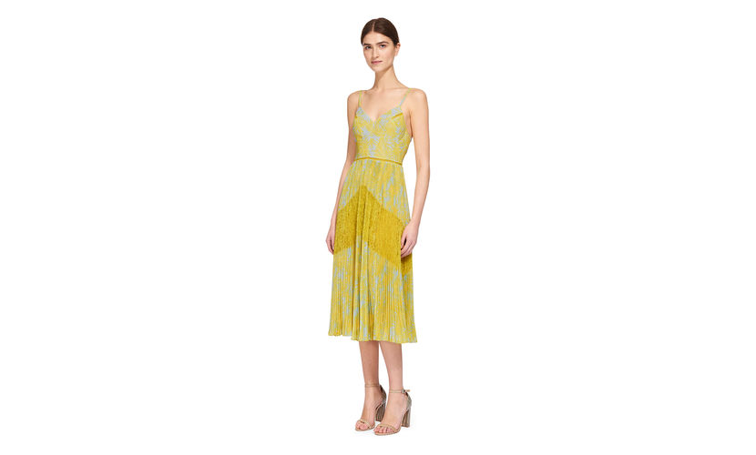 whistles-iris-lace-dress-mustard dress