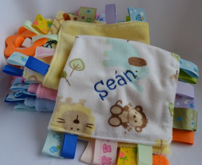 Baby Gift Ideas Blanket Tags