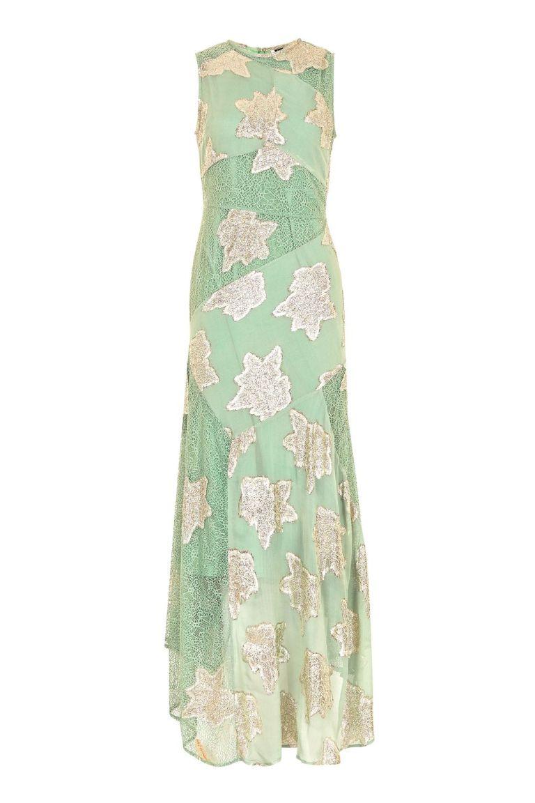 Topshop Green Dress